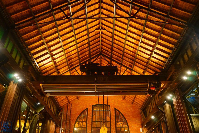 Le Chameau Bleu - Blog Voyage Restaurant Gand Belgique - Salle du restaurant Volta gastronomique Volta Gand