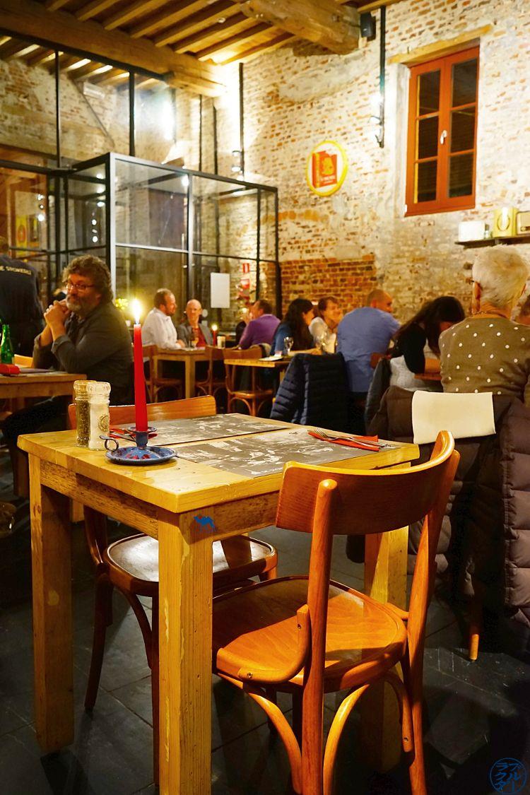 Le Chameau Bleu - Blog Voyage Gand Belgique - Salle du DeStokerij Restaurant à Gand Flandres Belges