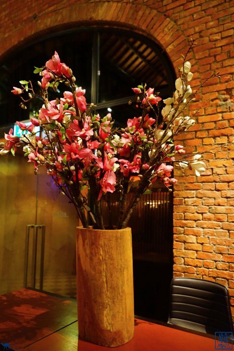 Le Chameau Bleu - Blog Voyage Restaurant Gand Belgique - Fleur du restaurant Volta - Ghent - Belgique - escapade en Belgique