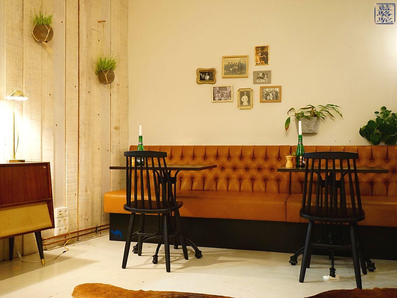 Le Chameau Bleu - Blog Voyage Restaurant Gand Belgique - Décor Vintage de Mémé Gusta - Restaurant à Gand Belgique