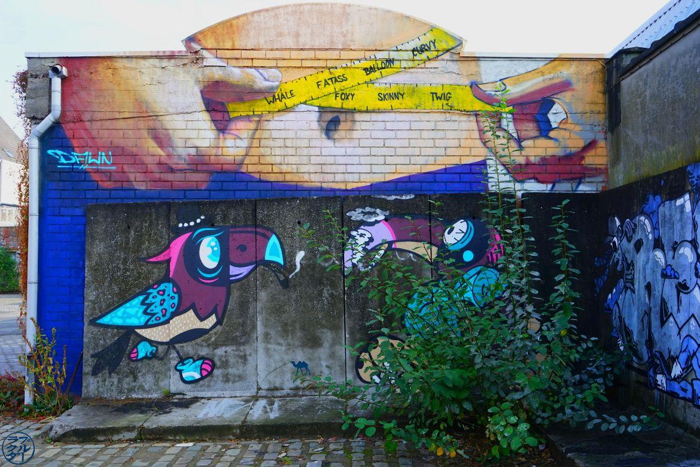 Le Chameau Bleu - Blog Voyage Gand Belgique - Gent Glas - Street art 4Chose à faire à Gand Belgique