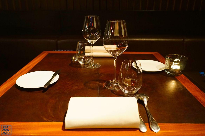 Le Chameau Bleu - Blog Voyage Restaurant Gastronomique Gand Belgique - Table du restaurant Volta à Ghent