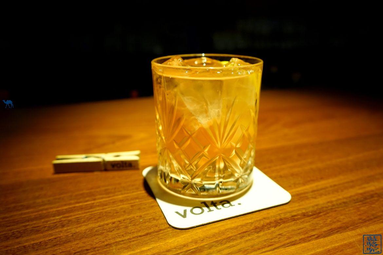 Le Chameau Bleu - Blog Voyage Restaurant Gand Belgique - Cocktail Kiss my Rhubarb - Volata - Séjour à Gand