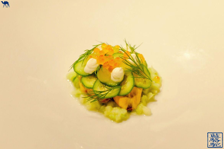 Le Chameau Bleu - Blog Voyage Restaurant Gand Belgique - Moule Escabeche - Restaurant Volta - Gand Gastronomie en Belgique