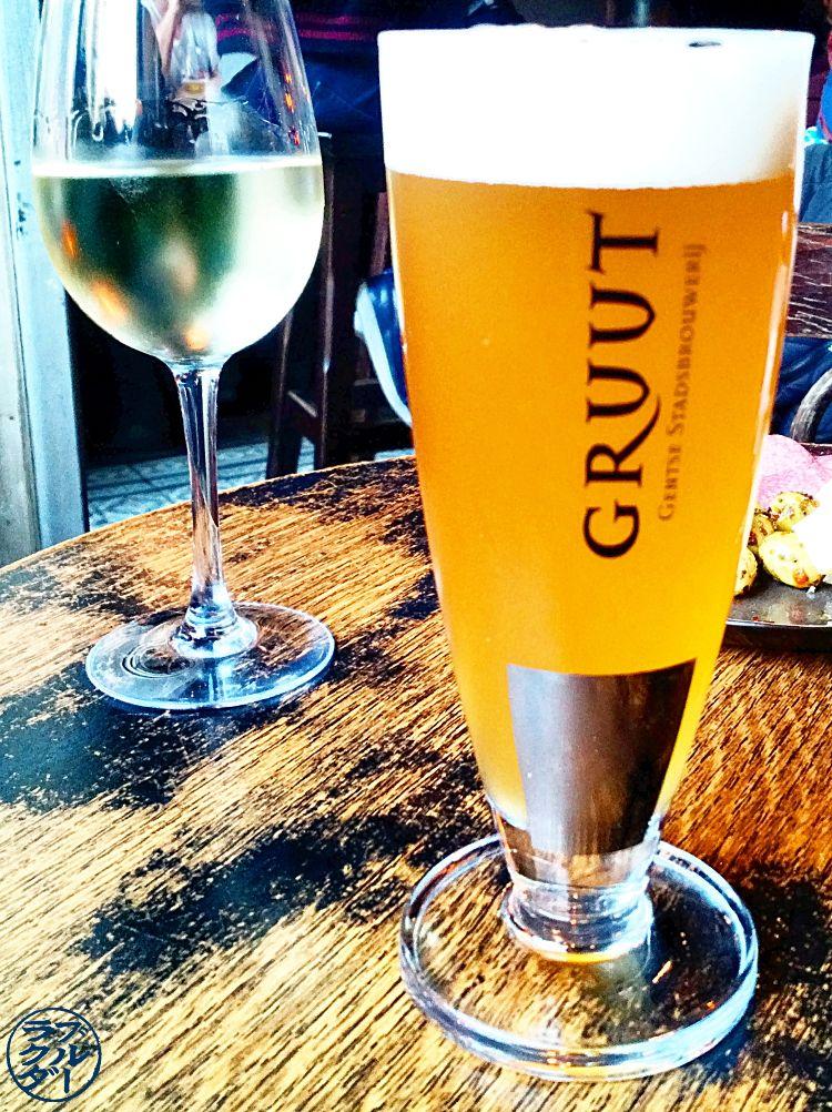 Voyage Gand Belgique - Gruut Biere Gantoise