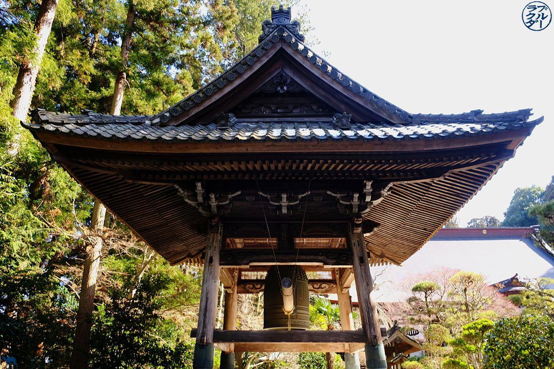 Le Chameau Bleu - Gong du Mausolée de Zuihoden - Sendai - voyage dans Miyagi -Tohoku