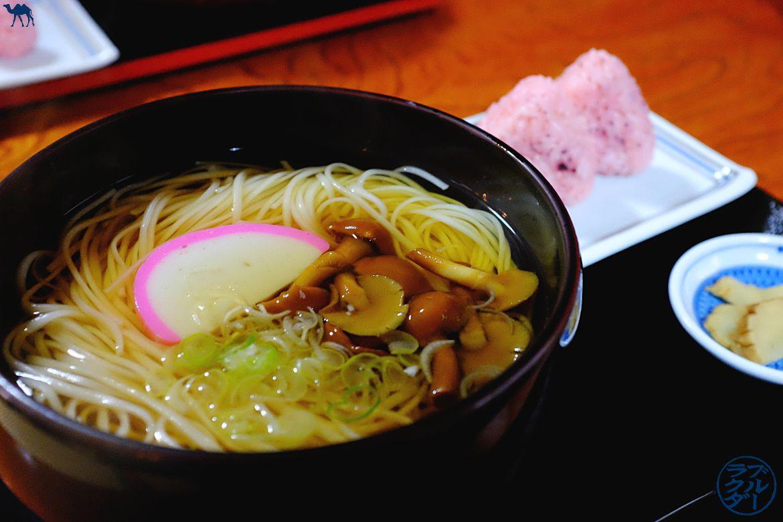 Le Chameau Bleu - Blog Voyage au Japon dans le Tohoku - Kakunodate - Inaniwa Udons
