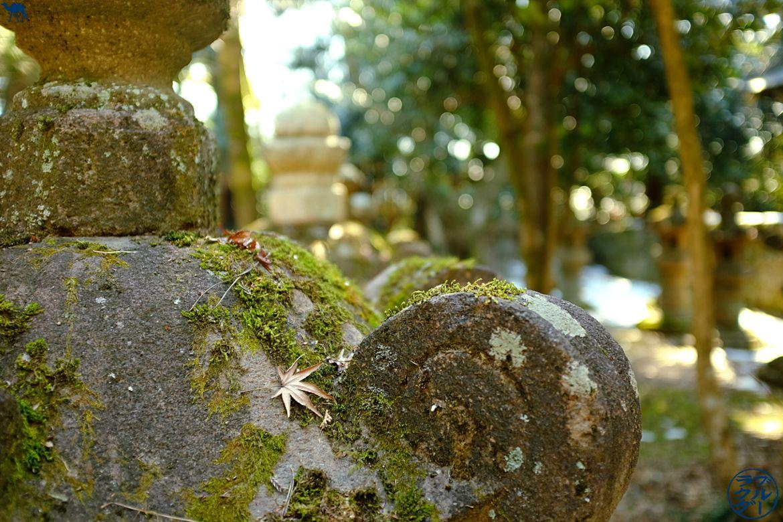 Le Chameau Bleu - Blog Voyage Sendai Japon - Lanterne du Jardin de Zuihoden - Séjour à Sendai - Miyagi Tohoku