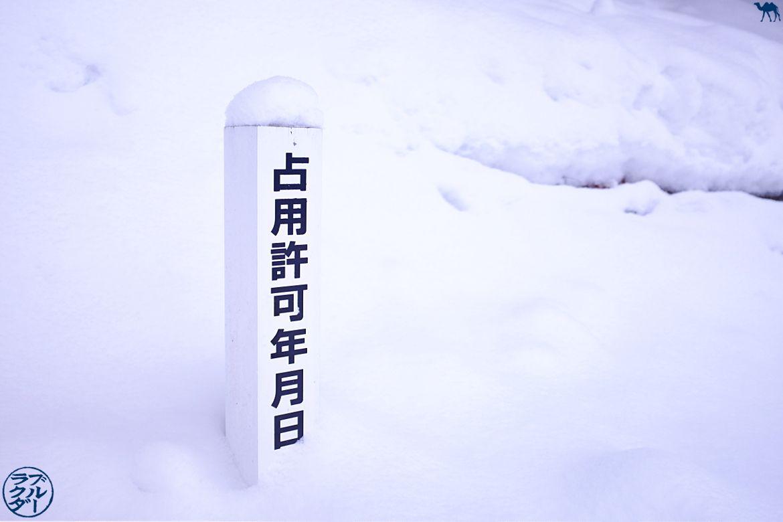 Le Chameau Bleu - Voyage dans le Tohoku Japon - Lac de Tazawa sous la neige