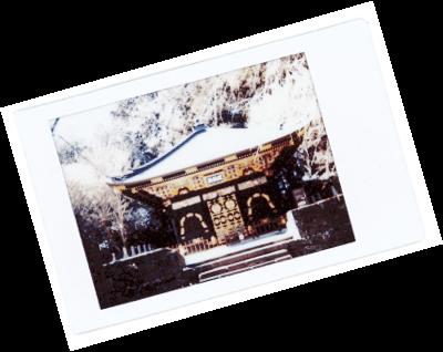 Le Chameau Bleu - Blog Voyage Japon - Polaroid du voyage a mausolée de Zuihoden Sendai Tohoku