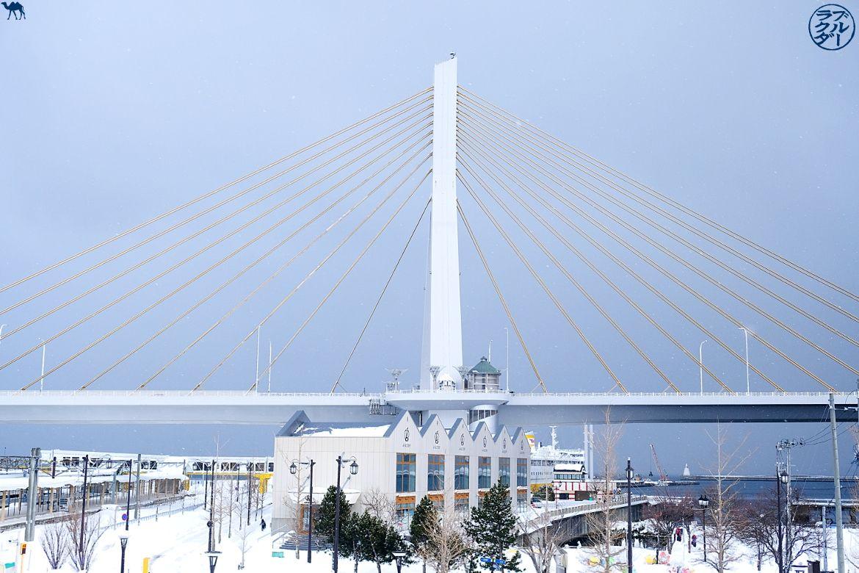 Le Chameau Bleu - Blog Voyage Aomori Japon - Pont de Aomori dans le Tohoku Japon