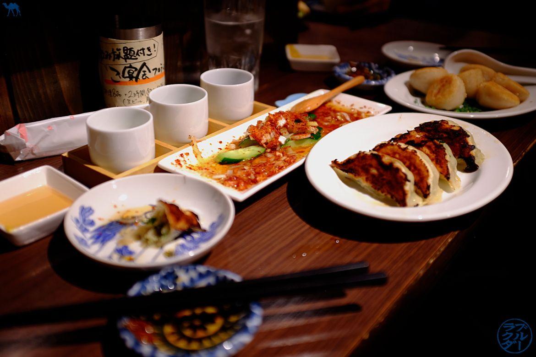 Le Chameau Bleu - Blog Voyage Sendai Japon - Repas dans un bar à saké de Sendai - Vacances dans le Tohoku