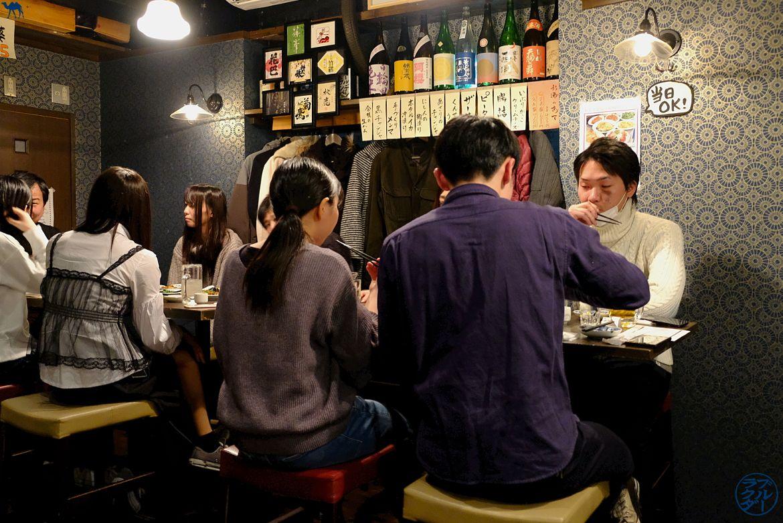 Le Chameau Bleu - Blog Voyage Japon Bar à Saké à Sendai - Séjour dans le Tohoku