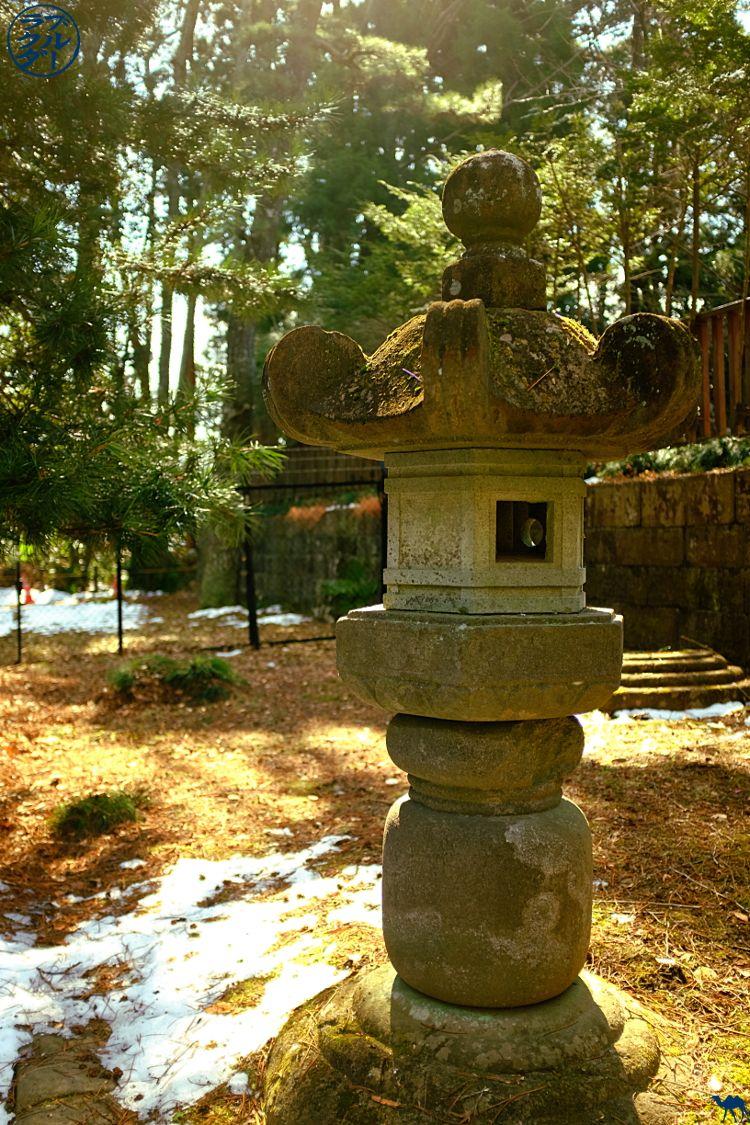 Le Chameau Bleu - Blog Voyage Sendai Japon - Lanterne du Jardin de Zuihoden - Vacances à Sendai - Miyagi Tohoku