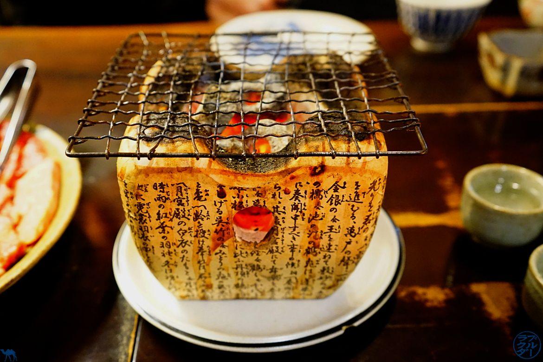 Bonne adresse de resto à Takayama Barbecue de table Schichirin - Le Chameau Bleu - Blog Voyage Japon Takayama