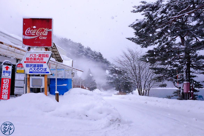 Le Chameau Bleu - Blog Voyage Japon - Tourisme dans le Tohoku - Voyage au Japon - Lac de Tazawa