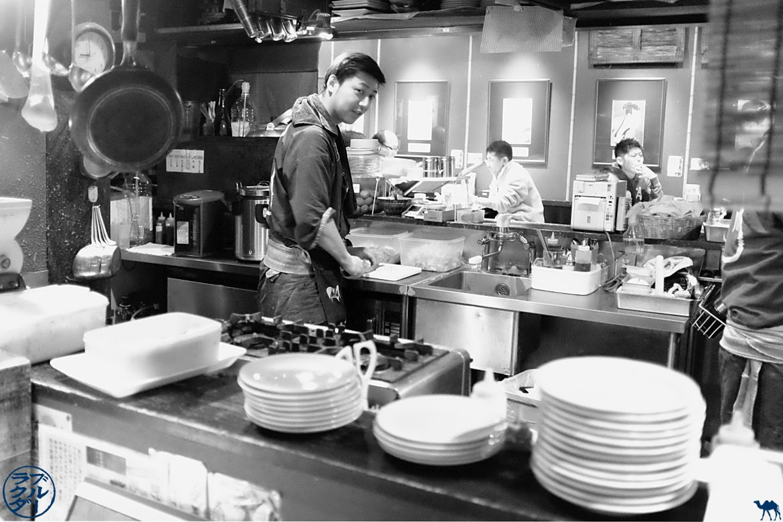 Le Chameau Bleu - Blog Voyage Aomori Japon - Au restaurant à Aomori dans le tohoku Japon