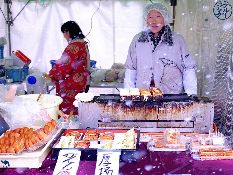 Le Chameau Bleu - Voyage au Japon dans le Tohoku - Vendeur de Tofu Yokote