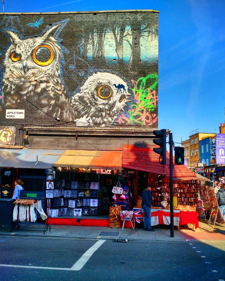 Le Chameau Bleu - Blog Voyage à Londres UK - Camden Market - Séjour à Londres
