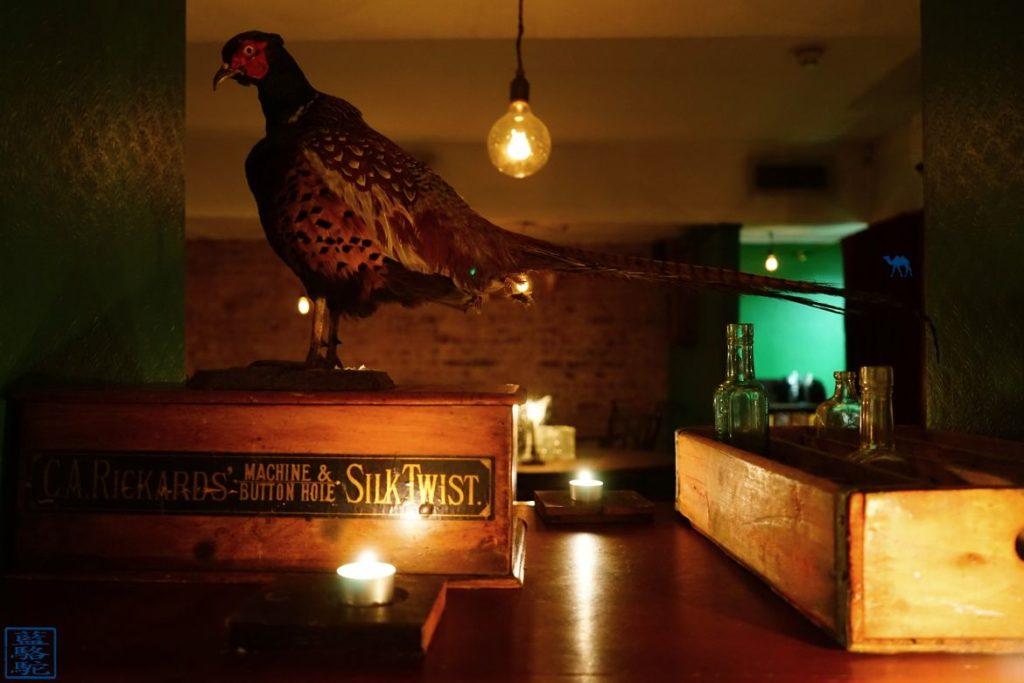 Le Chameau Bleu Blog Week End Londres - Bar à Cocktail Evans & Peel à Londres