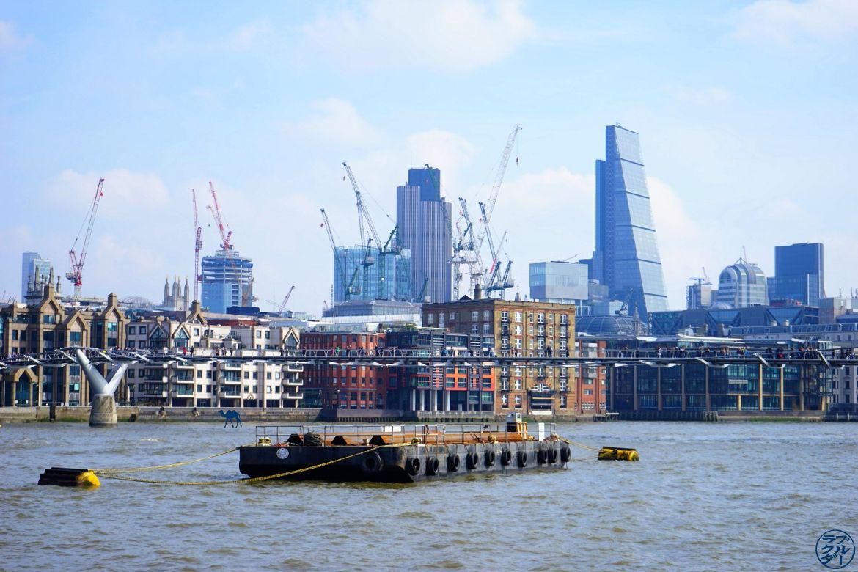Le Chameau Bleu - Blog Voyage à Londres UK -Balade au bord de la Tamise Londres UK