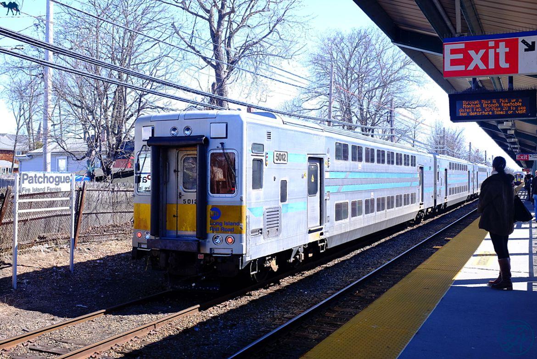 Le chameau bleu- Blog voyage- Patchogue -Long-Island-Patchogue-Train
