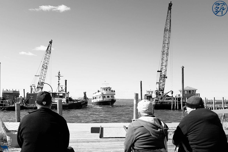 Le chameau bleu- Blog voyage -Long-Island-Fire Island-port