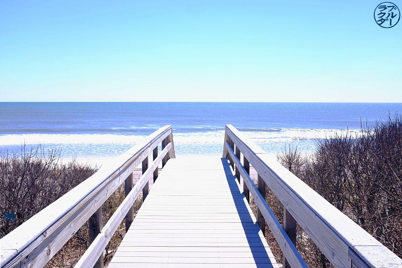 Le chameau bleu- Blog voyage -Long-Island-Fire Island- Ponton