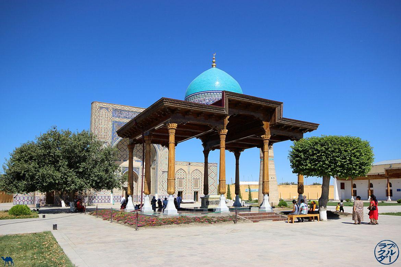 Le Chameau Bleu - Blog Voyage Boukhara Ouzbékistan - Madrassa Ulugh Beg