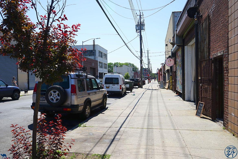 Le Chameau Bleu - Balade dans Brooklyn Red Hook - Vacances à New York Blog Voyage New York City