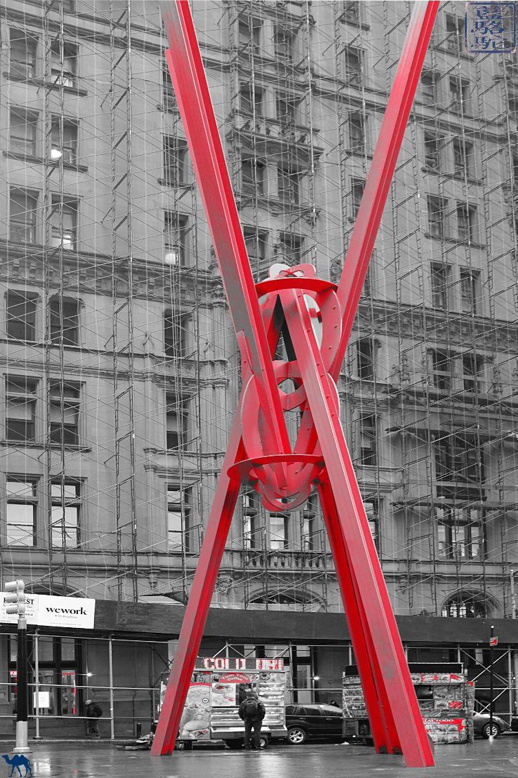 Manhattan Joie de vivre Sculpture de Mark di Suvero USA