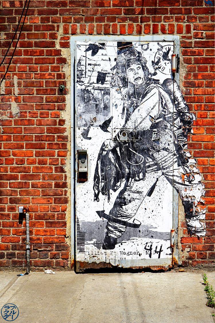 Le Chameau Bleu - Balade dans Brooklyn Red Hook - Street Art - Séjour à New York