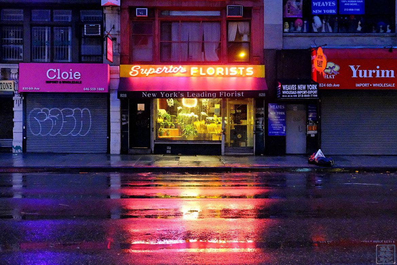 Blog Voyage New York City Fleuriste de Manhattan - Photographie de New York USA
