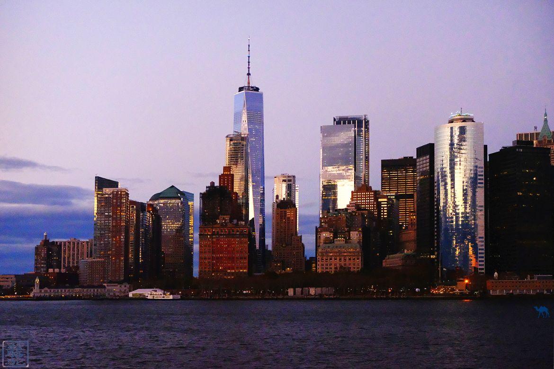 Blog Voyage New York City Manhattan depuis le ferry de staten island New York