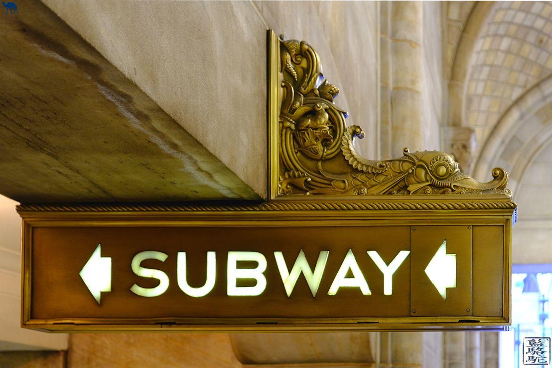 Le Chameau Bleu - New York et son métro subway - Manhattan Blog Voyage New York City