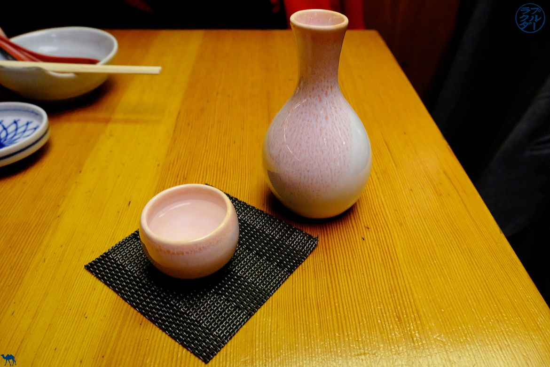 Saké de Sobaya - Restaurant Japonais East village - Séjour à New York - Le Chameau Bleu