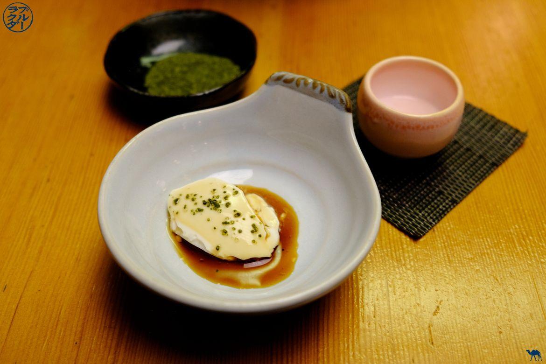 Tofu Maison de Sobaya - Restaurant Japonais East village - Séjour à New York - Le Chameau Bleu