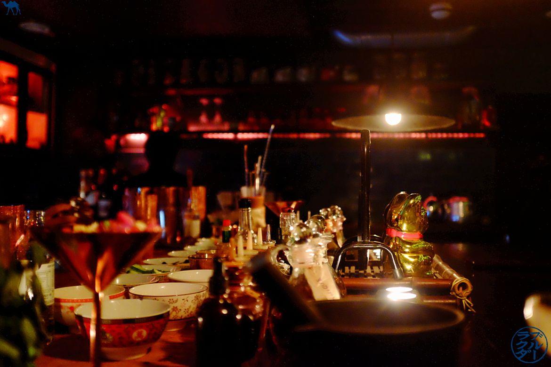 Le Chameau Bleu - Blog Voyage Londres - Comptoir de l'opium bar - bar à cocktail Chinatown Londres