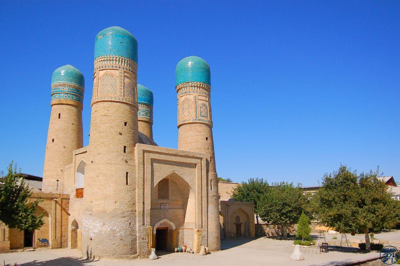 Blog Voyage Ouzbékistan Asie Centrale - Chor Minor à Boukhara Séjour en Ouzbékistan