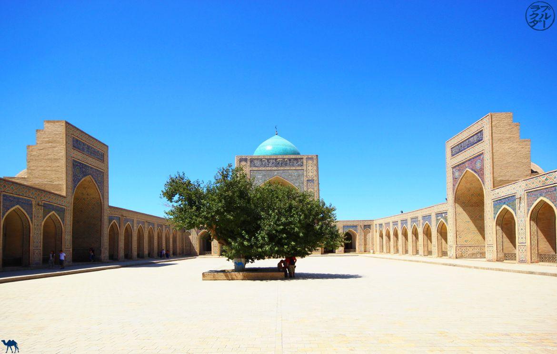 Blog Voyage Ouzbékistan - Intérieur de la mosquée Kalon à Boukhara en Ouzbékistan