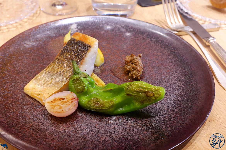 Le Chameau Bleu - Blog Gastronomie et Voyage - Bar à la plancha du Restaurant Gastronomique Toyo à Paris