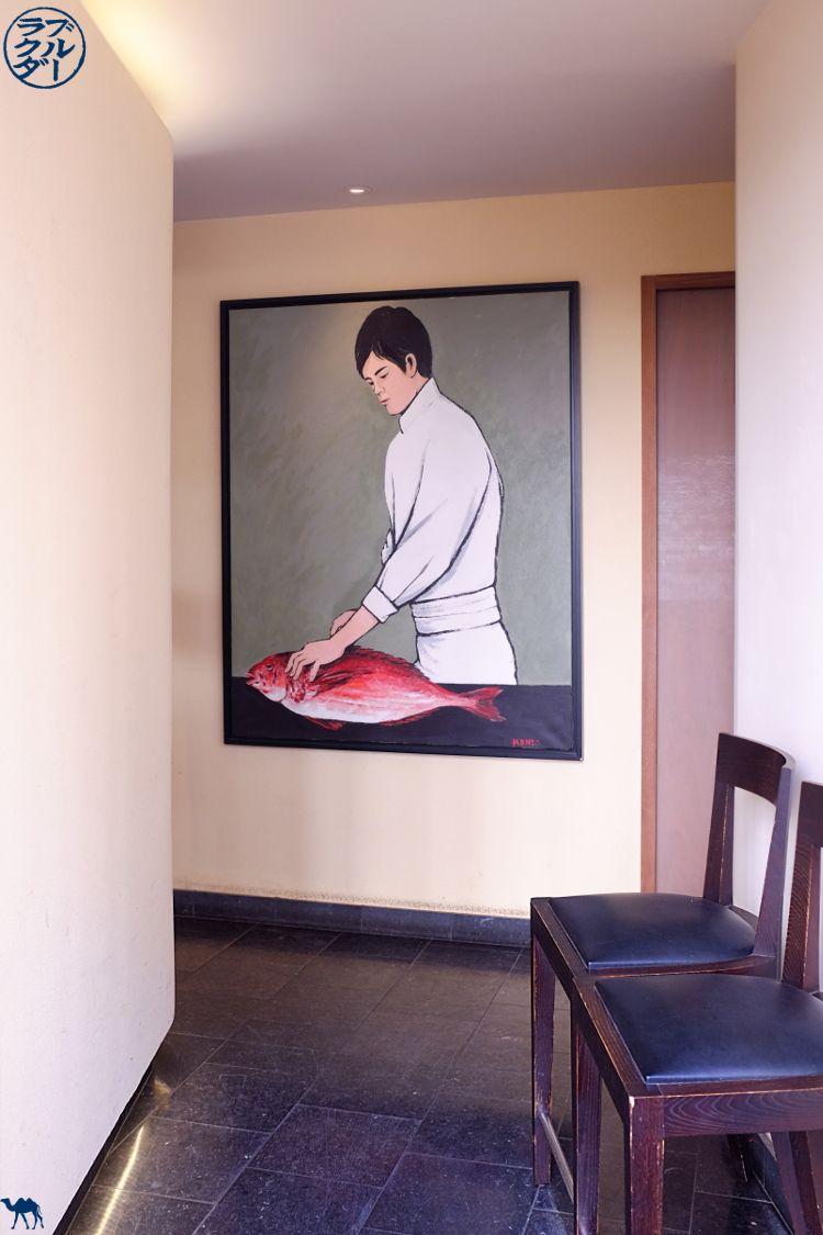 Le Chameau Bleu - Blog Gastronomie et Voyage - Entrée du Restaurant gastronomique Toyo à Paris