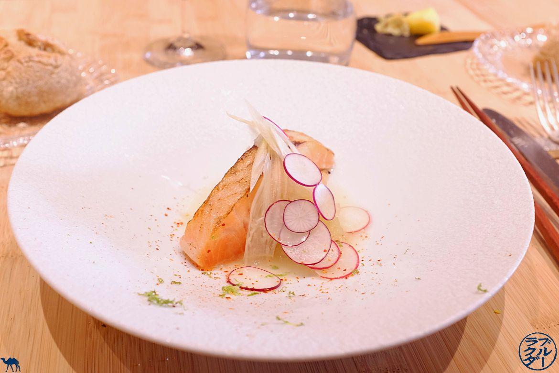 Le Chameau Bleu - Blog Gastronomie et Voyage - Entrée du Restaurant Gastronomique Chef Japonais à Paris Toyo