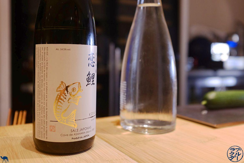 Le Chameau Bleu - Blog Gastronomie et Voyage - Saké du restaurant Toyo à Paris