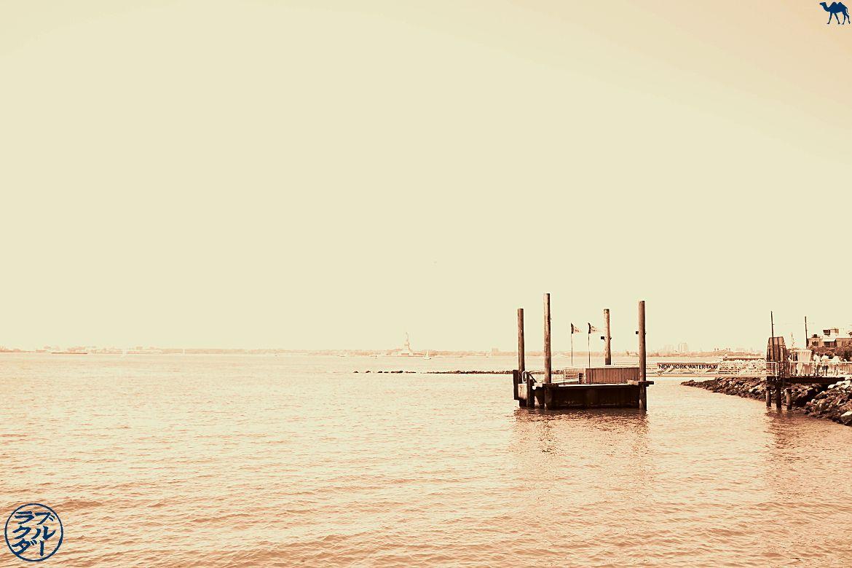 Le Chameau Bleu - Ponton du Parc Pier 44 Waterfront Garden à Red Hook - Voyage à New York