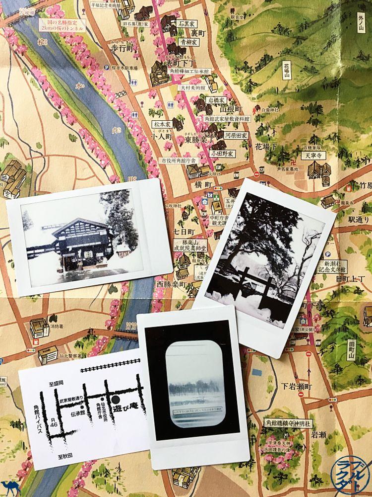 Le Chameau Bleu - Blog Japon - Polaroid de Kakunodate - Voyage au Japon dans le Tohoku