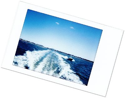 Le chameau bleu- Blog voyage -Long-Island-Fire Island- Polaroid