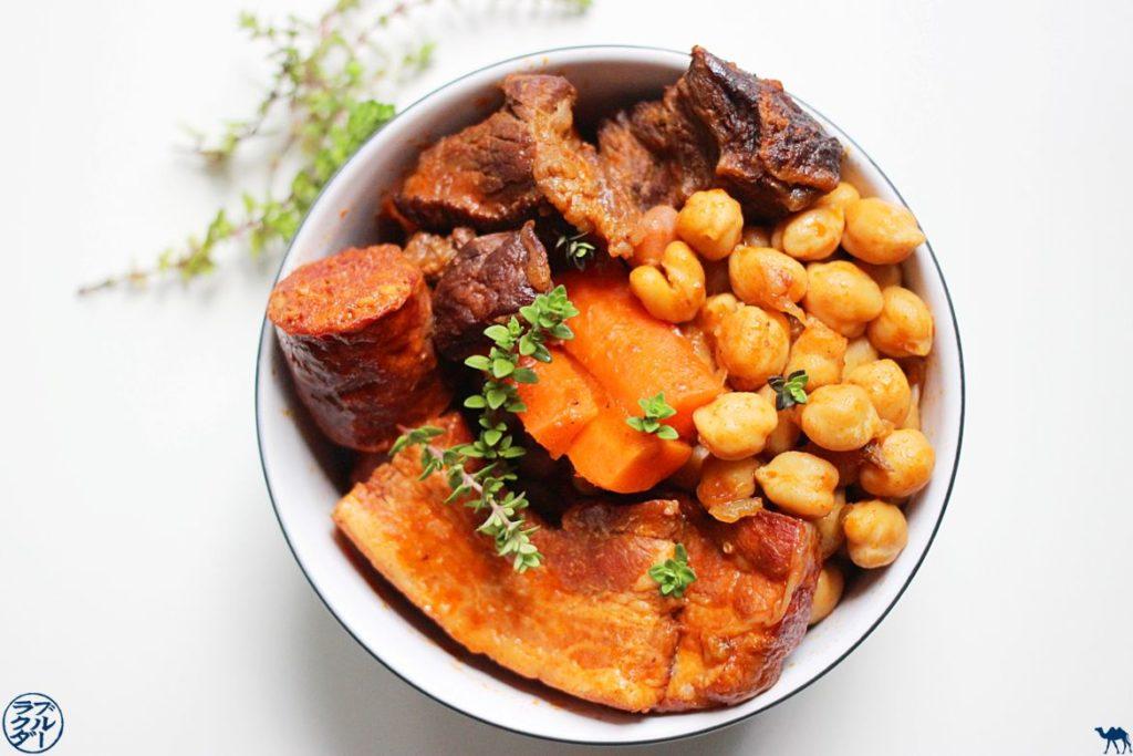 Recette du Cocido - Blog Cuisine et Voyage - Recette espagnole du Ragout de pois chiches