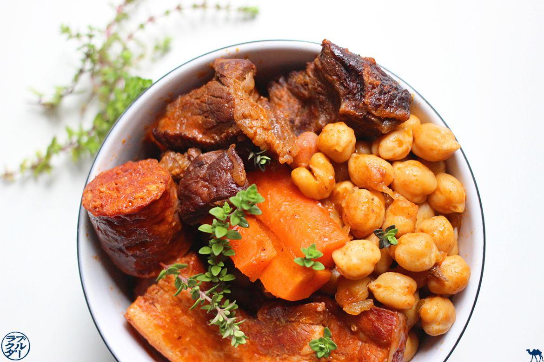 Le Chameau Bleu - Blog Cuisine et Voyage - Cocido - Olla - Puchero Recette espagnole Cuisine espagnole