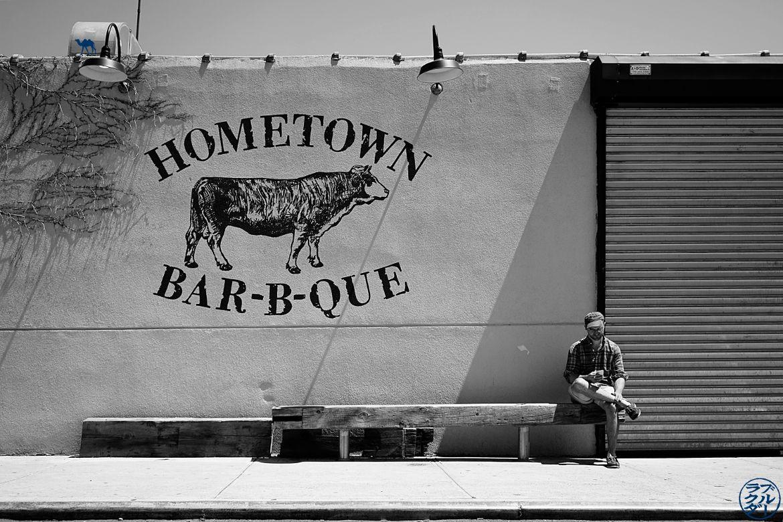 Le Chameau Bleu - Blog Voyage New York City Bon plan restaurant à Red Hook à Brooklyn - Hometown Bar-b-que